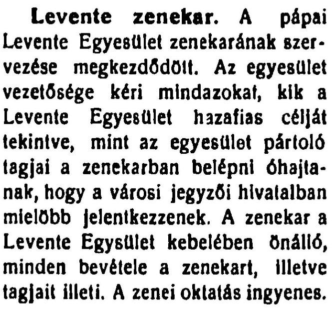 Pápa és Vidéke - 1926.11.28.