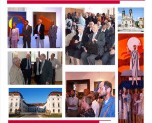 Ürmös Péter köszöntése Nemcsics Antal 90. születésnapján